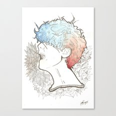 Cold 2 Canvas Print