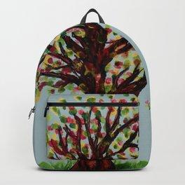 Grunge sketch of tree Backpack