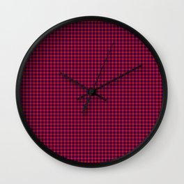 Hamilton Tartan Wall Clock