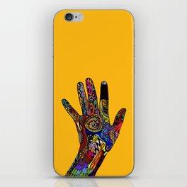 Doodle Hands iPhone Skin