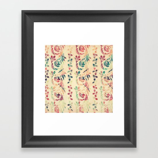 Another floral pattern Framed Art Print