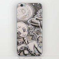 alien iPhone & iPod Skins featuring Alien by Ju.jo.weh