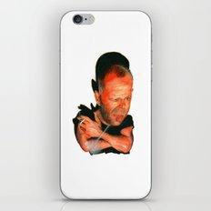 Bruce Willis iPhone & iPod Skin