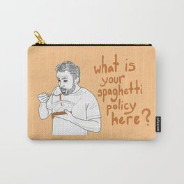 Charlie Kelly - Spaghetti Policy Carry-All Pouch