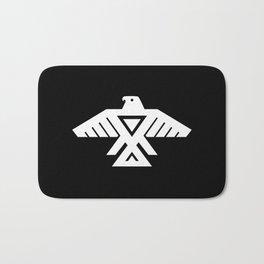 Thunderbird flag - Inverse edition version Bath Mat