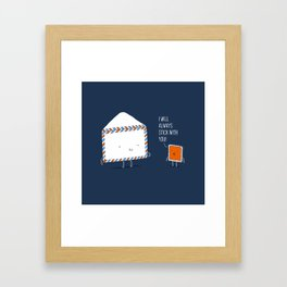 Stick with you Framed Art Print