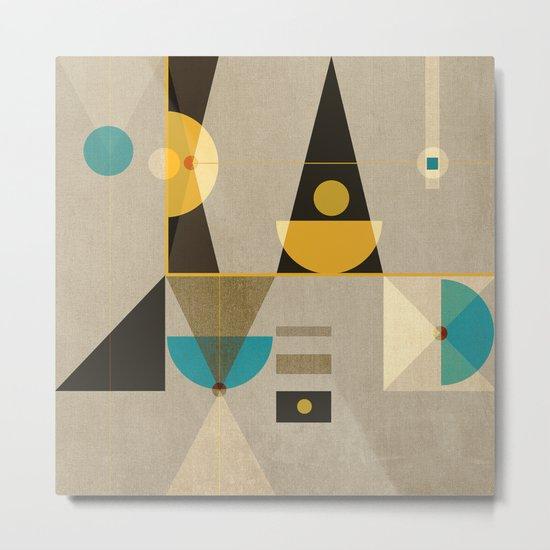 Geometric/Abstract 19 Metal Print