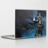 witch Laptop & iPad Skins featuring Witch by Samera Tseng