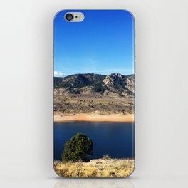 Horsetooth Reservoir Fort Collins Colorado Color Photo iPhone Skin