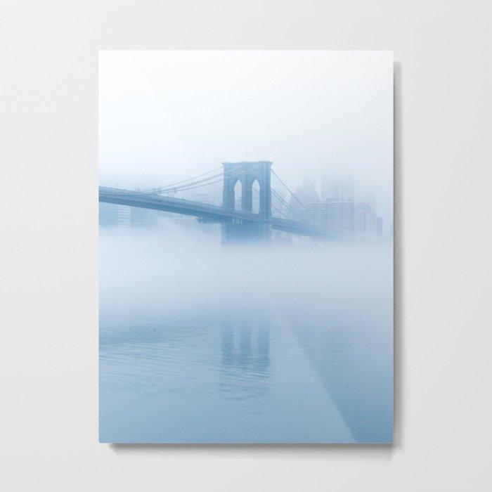 Big Bridge - Big Dreams - Brooklyn Metal Print