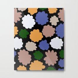 Mid autumn Flower stamping Metal Print