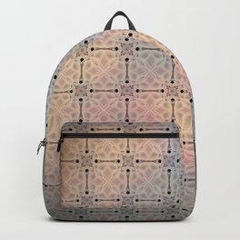 Flowered twilight Backpack