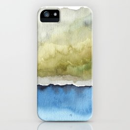 Green by the Sea iPhone Case