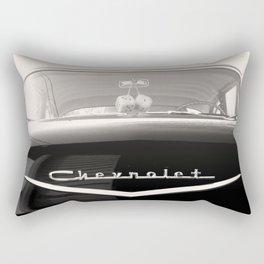 My Grandpa's 1957 Chevy Rectangular Pillow