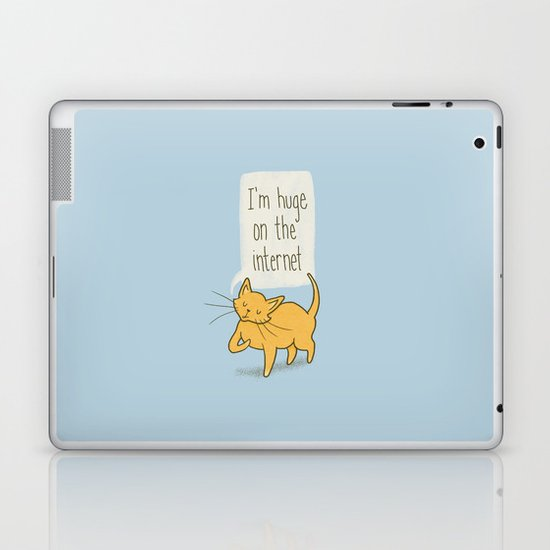 Huge on the Internet Laptop & iPad Skin