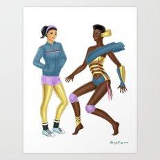 Fashion Journal: Day 26 Art Print