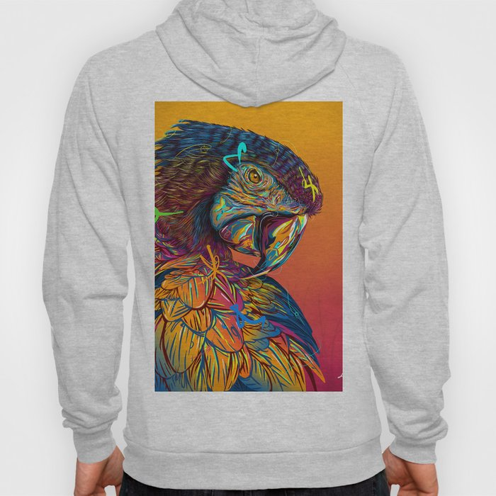 GUACAMAYO Exotic Animals Species Hoody