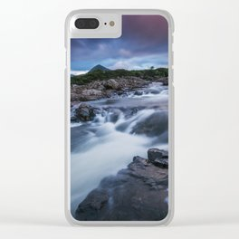 The River at Sligachan Clear iPhone Case