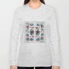 basic Shapes Pattern 3 - Diamonds Long Sleeve T-shirt