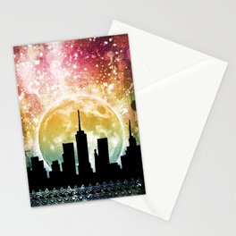 Moonrise Stationery Cards