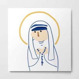 St. Teresa (Mother Teresa) Metal Print
