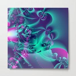 Auroras and Anemones Metal Print