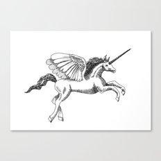Arty Unicorn Canvas Print