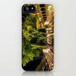 Fall Night in Boston, MA iPhone Case