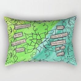 Comfortable Truth Rectangular Pillow