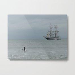Tall Ship Metal Print