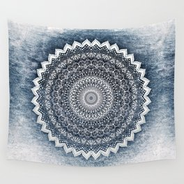 COLD WINTER MANDALA Wall Tapestry