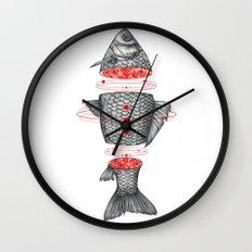 Sashimi III Wall Clock