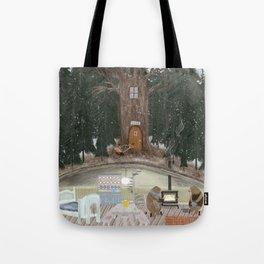 house of bear Tote Bag