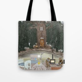 house of bear Tote Bag