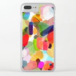 Sketch time - aquarela texture Clear iPhone Case