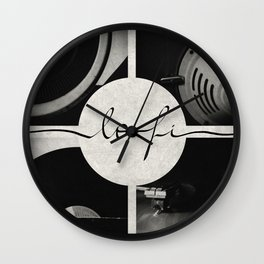 Lo-Fi // Analog Zine Wall Clock
