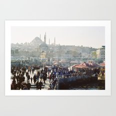Istanbul - Constantinopole Art Print