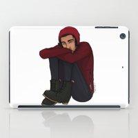 zayn iPad Cases featuring Comfy Zayn by Ashley R. Guillory