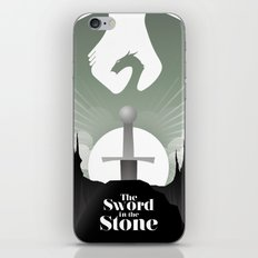 The Sword in the Stone iPhone & iPod Skin