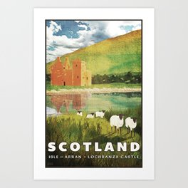 Scotland, Isle of Arran Art Print