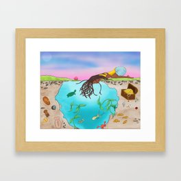 Searching for Prince Charming Framed Art Print