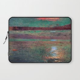 COLORED MORNING SUN Laptop Sleeve