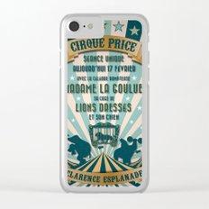 CIRQUE PRICE BLEU Clear iPhone Case