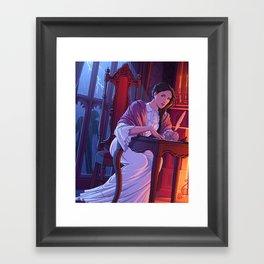 Mary Shelley Framed Art Print
