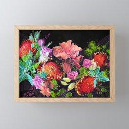 Energizing Blooms Framed Mini Art Print