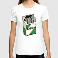marijuana T-shirts featuring Mainstream Marijuana by Kelsey Dake