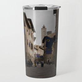 Cobble Stone Streets of Italy Travel Mug