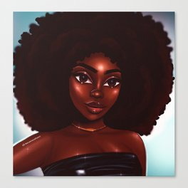 Rock that fro' Canvas Print