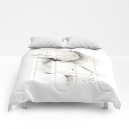 Moray Eels Sketch Comforters