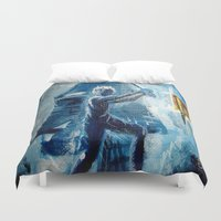 peter pan Duvet Covers featuring Peter Pan by ANoelleJay